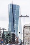 Nowy europejski bank centralny Zdjęcia Stock