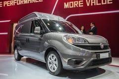 Nowy Fiat Doblo Van Zdjęcie Royalty Free