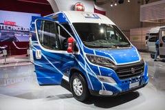 Nowy Fiat Ducato Van Zdjęcie Royalty Free