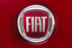 Nowy Fiat logo Zdjęcia Stock