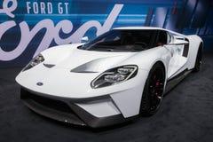 Nowy 2017 Ford GT samochód Fotografia Royalty Free