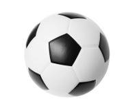 Nowy futbol fotografia royalty free