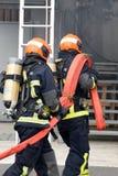Nowy Glasgow Pożarniczy dział zdjęcia stock