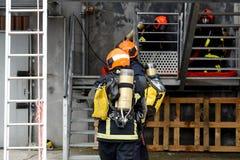Nowy Glasgow Pożarniczy dział zdjęcie stock