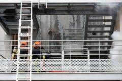 Nowy Glasgow Pożarniczy dział fotografia stock