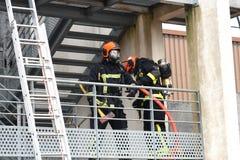 Nowy Glasgow Pożarniczy dział obrazy stock
