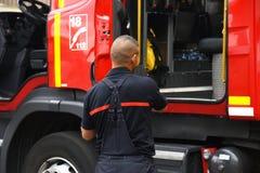 Nowy Glasgow Pożarniczy dział obrazy royalty free