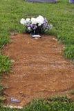 nowy grób Zdjęcie Stock
