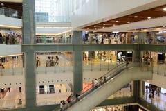 Nowy Grodzki placu zakupy centrum handlowego wnętrze Zdjęcia Stock