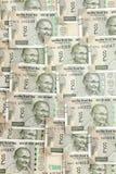 Nowy hindus 500 rupii banknot?w 5000 t?o rachunk?w pieni?dze rubli wzoru zdjęcia royalty free