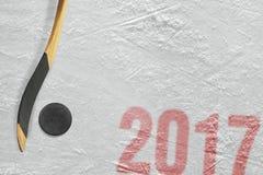 Nowy hokejowy sezon 2017 Zdjęcie Royalty Free