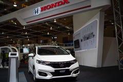 Nowy Honda jazzowy hybryd 2018 obrazy stock