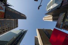 Nowy Hork NY czasu kwadrata puszek ziemia - - Obraz Royalty Free