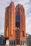 Nowy hotelowy budynek w budowie w Abu Dhabi Fotografia Royalty Free