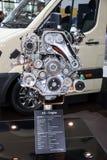 Nowy Hyundai AII silnik diesla Zdjęcia Royalty Free