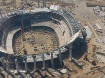 Nowy Inglewood stadium buduje dla ładowarek NFL liga footballowa obrazy stock