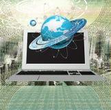 Nowy internet ilustracji