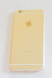 Nowy iPhone 6 złoto Obraz Stock