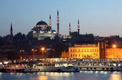 nowy Istanbul meczet zdjęcia royalty free