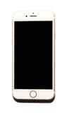 Nowy Jabłczany iPhone 6 odizolowywający Zdjęcie Stock