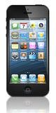 Nowy Jabłczany iPhone 5 Zdjęcia Royalty Free
