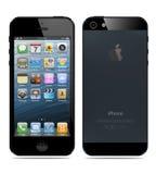 Nowy Jabłczany iPhone 5 Obraz Royalty Free