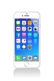 Nowy Jabłczany iPhone 6 Obrazy Stock