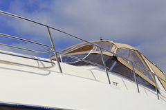 Nowy jacht Zdjęcia Royalty Free