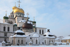 Nowy Jerozolimski monaster. Obrazy Royalty Free