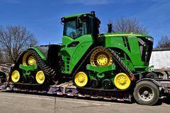 Nowy John Deere 9620RX ciągnik fotografia royalty free