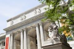 Nowy Jork biblioteka publiczna, artykuł wstępny Obrazy Royalty Free