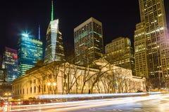 Nowy Jork biblioteka publiczna, Miasto Nowy Jork Obrazy Royalty Free