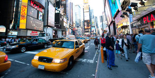Nowy Jork, Broadway Fotografia Stock