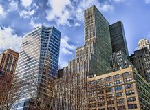 Nowy Jork Buildings-2 obrazy royalty free