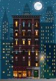 Nowy Jork builing royalty ilustracja
