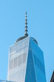 NOWY JORK, Dec - 26: sceneria blisko world trade center w Nowy Jork C Fotografia Royalty Free