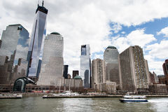 Nowy Jork droga wodna Zdjęcie Royalty Free