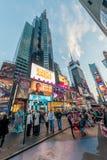 Nowy Jork, GRUDZIEŃ - 22, 2013: Times Square na Grudniu 22 w usa Obrazy Royalty Free