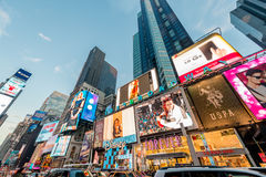 Nowy Jork, GRUDZIEŃ - 22, 2013: Times Square na Grudniu 22 w usa Zdjęcia Royalty Free