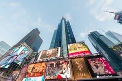 Nowy Jork, GRUDZIEŃ - 22, 2013: Times Square na Grudniu 22 w usa Obraz Stock