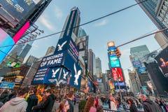 Nowy Jork, GRUDZIEŃ - 22, 2013: Times Square na Grudniu 22 w usa Fotografia Stock