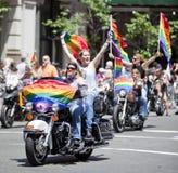 Nowy Jork Homoseksualna duma Marzec Obraz Stock