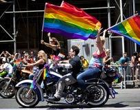 Nowy Jork Homoseksualna duma Marzec Fotografia Stock