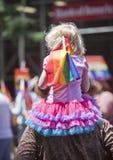 Nowy Jork Homoseksualna duma Marzec Obraz Royalty Free
