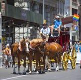 Nowy Jork Homoseksualna duma Marzec Zdjęcie Stock