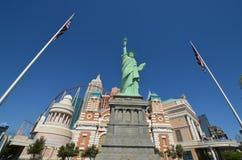Nowy nowy Jork hotel & kasyno, punkt zwrotny, budynek, iglica, drapacz chmur Obraz Stock