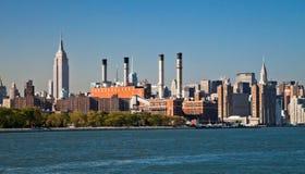 NOWY JORK, konsolidujący Edison Firma Nowy Jork Fotografia Royalty Free