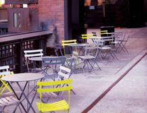 Nowy Jork krzesła obraz royalty free