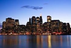Nowy Jork linia horyzontu (1) Zdjęcie Stock