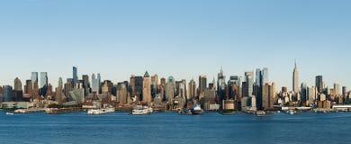Nowy Jork linia horyzontu zdjęcia royalty free